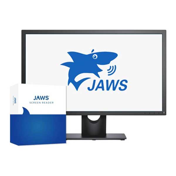 Logo du logiciel de revue d'écran JAWS