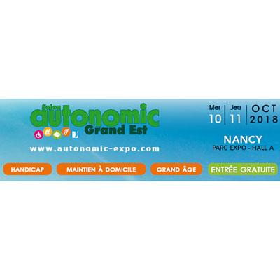 Logo Autonomic Grand Est 2018
