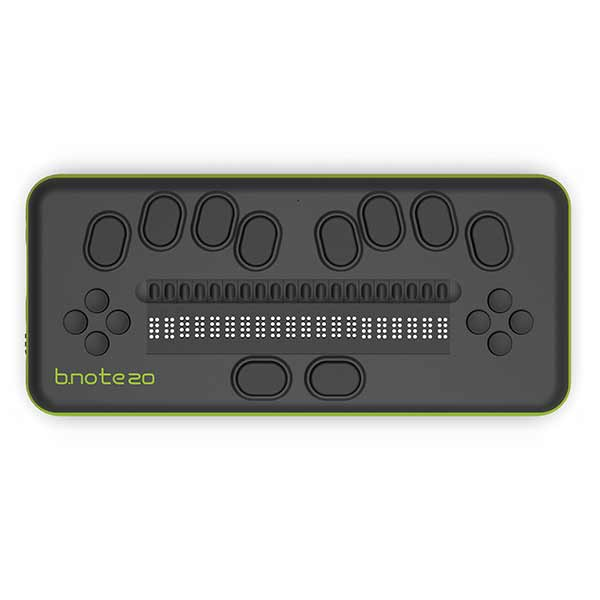 Afficheur braille b.note pour aveugle 20 ou 40 cellules 8 points