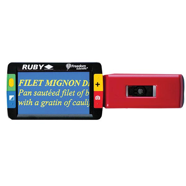 Loupe électronique Ruby avec écran 4.3 pouces pour malvoyants