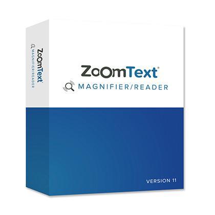 Logiciel de grossissement parlant Zoomtext Niveau 2 pour malvoyant