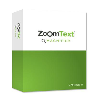 Logiciel de grossissement Zoomtext Magnifier pour malvoyant