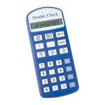 Calculatrice parlante Double Check pour personnes déficientes visuelles