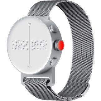 Montre connectée tactile sans aiguille accessible aveugles ou malvoyants