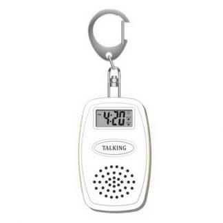 Porte-clefs parlant pour aveugle annonce heure, minutes et température