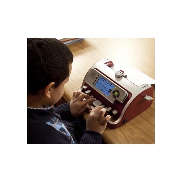 Machine à écrire le braille pour aveugle SMART Brailler vocale avec écran