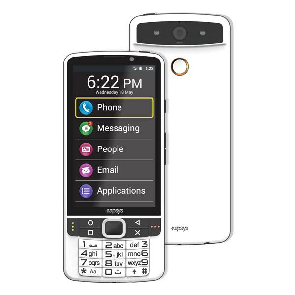 Smartphone SmartVision2 avec fonctions pour aveugle ou malvoyant