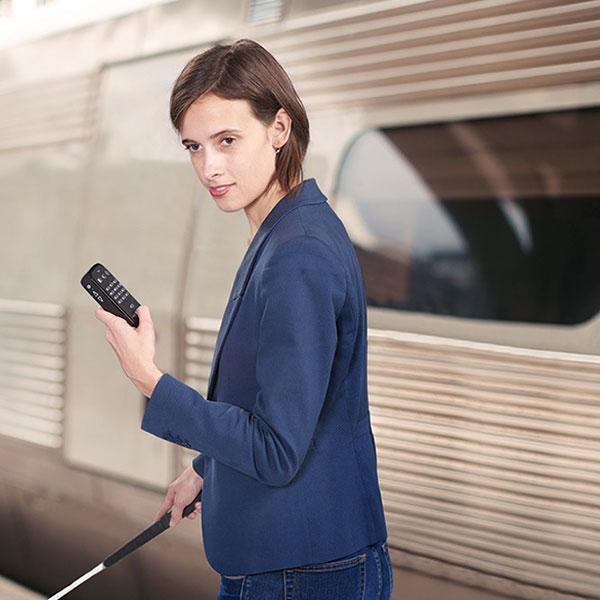 GPS et lecteur DAISY Victor Reader Trek pour aveugle ou malvoyant